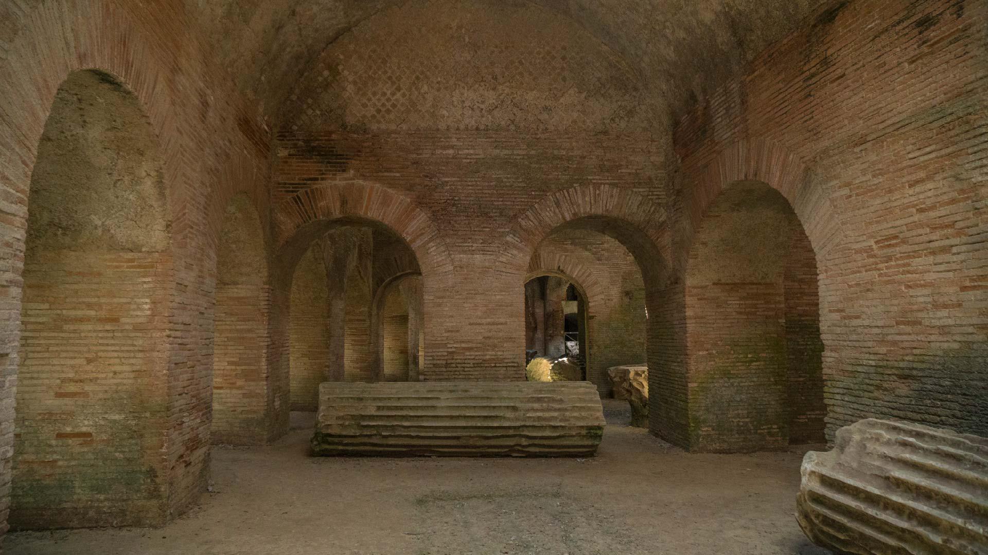 Sotterranei dell'Anfiteatro Flavio di Pozzuoli
