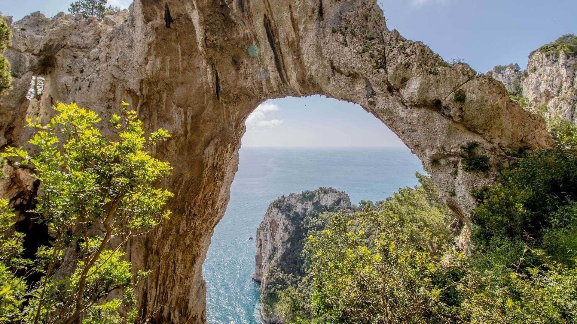 L'Arco Naturale di Capri