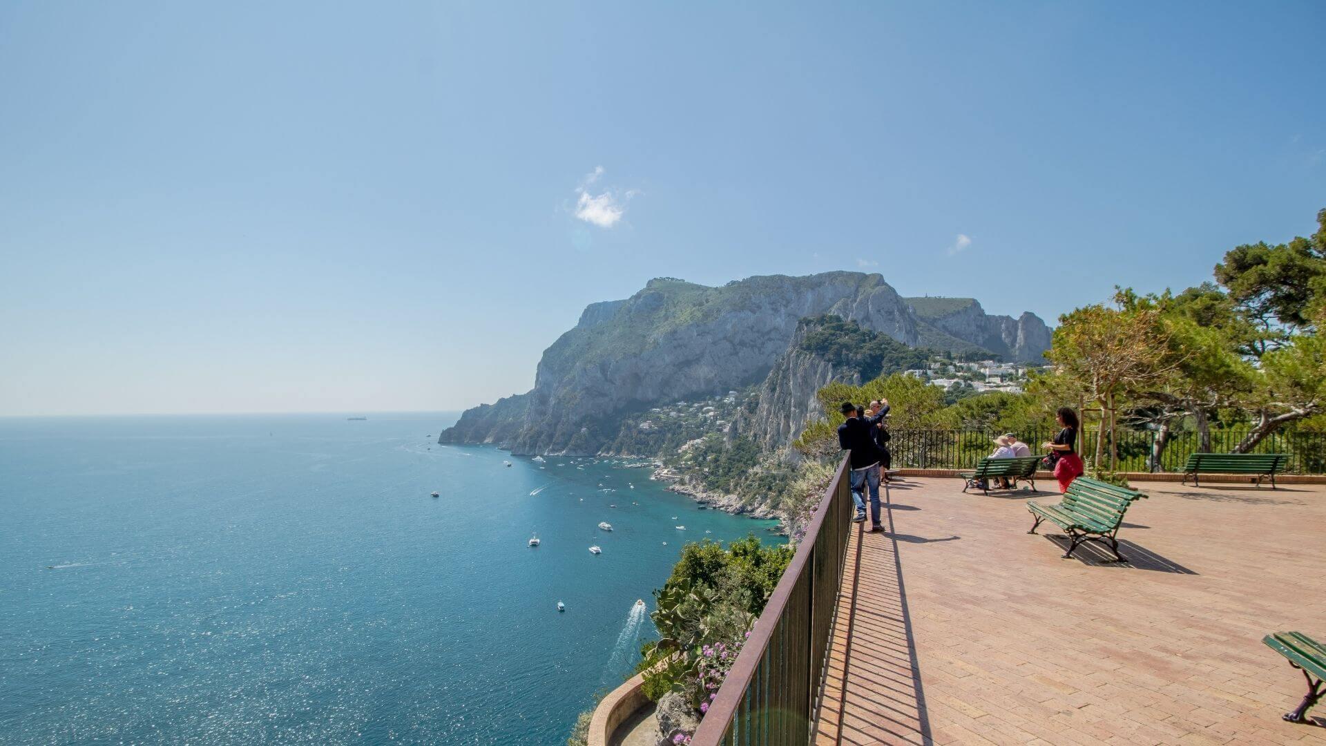 Belvedere Tragara, la terrazza di Capri