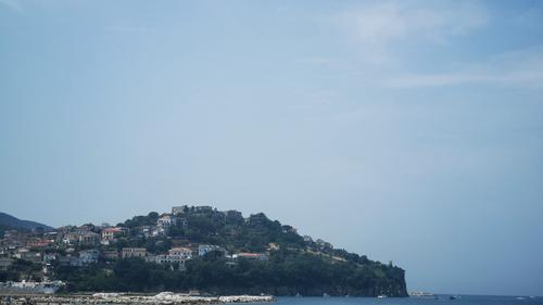 Castello di Agropoli da lungomare