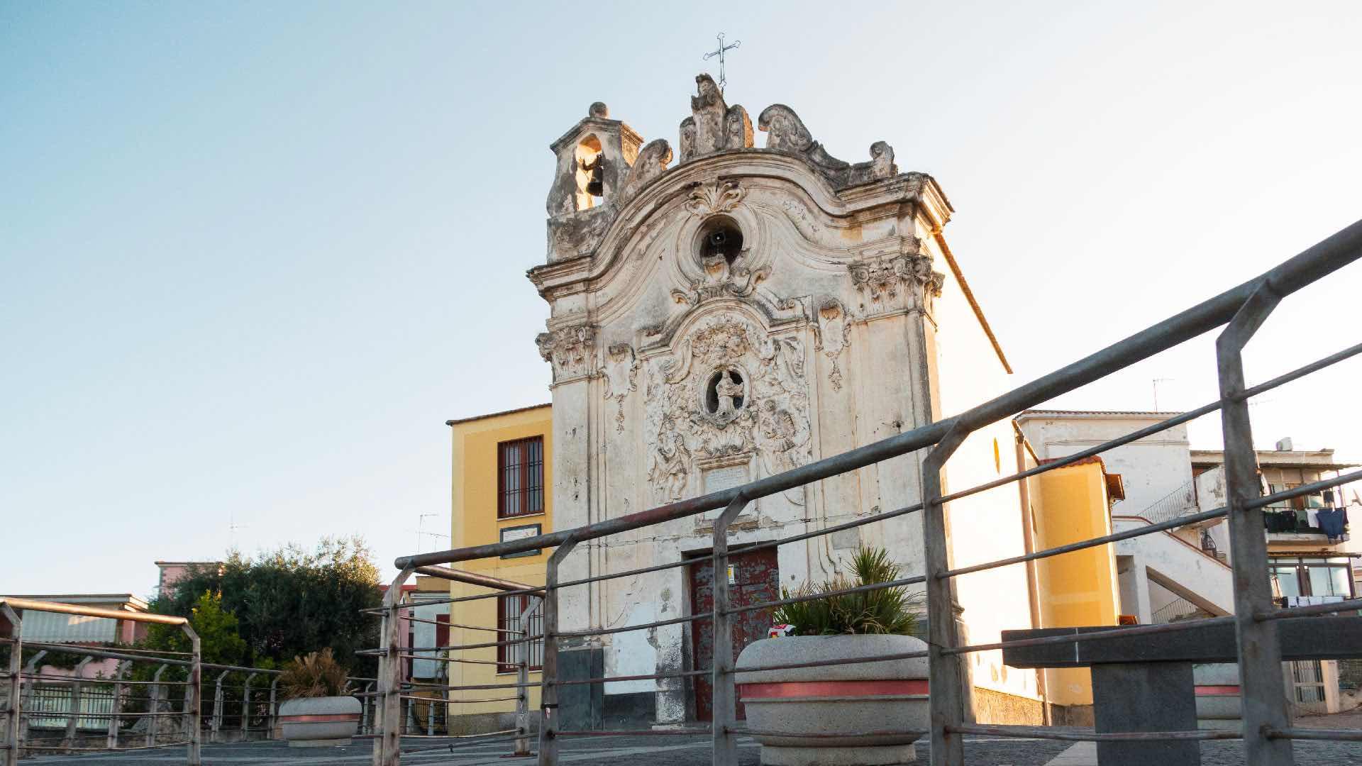 La Chiesa di San Vito: luogo di culto risparmiato dalla lava