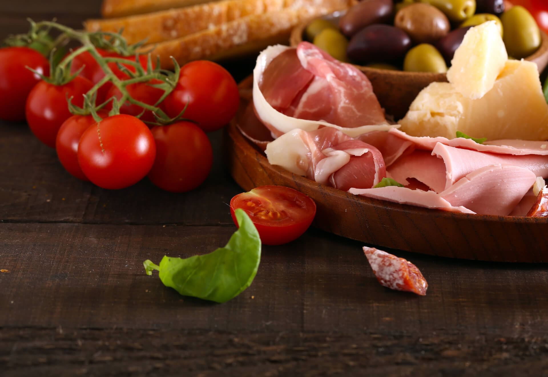 Cibo tipico italiano