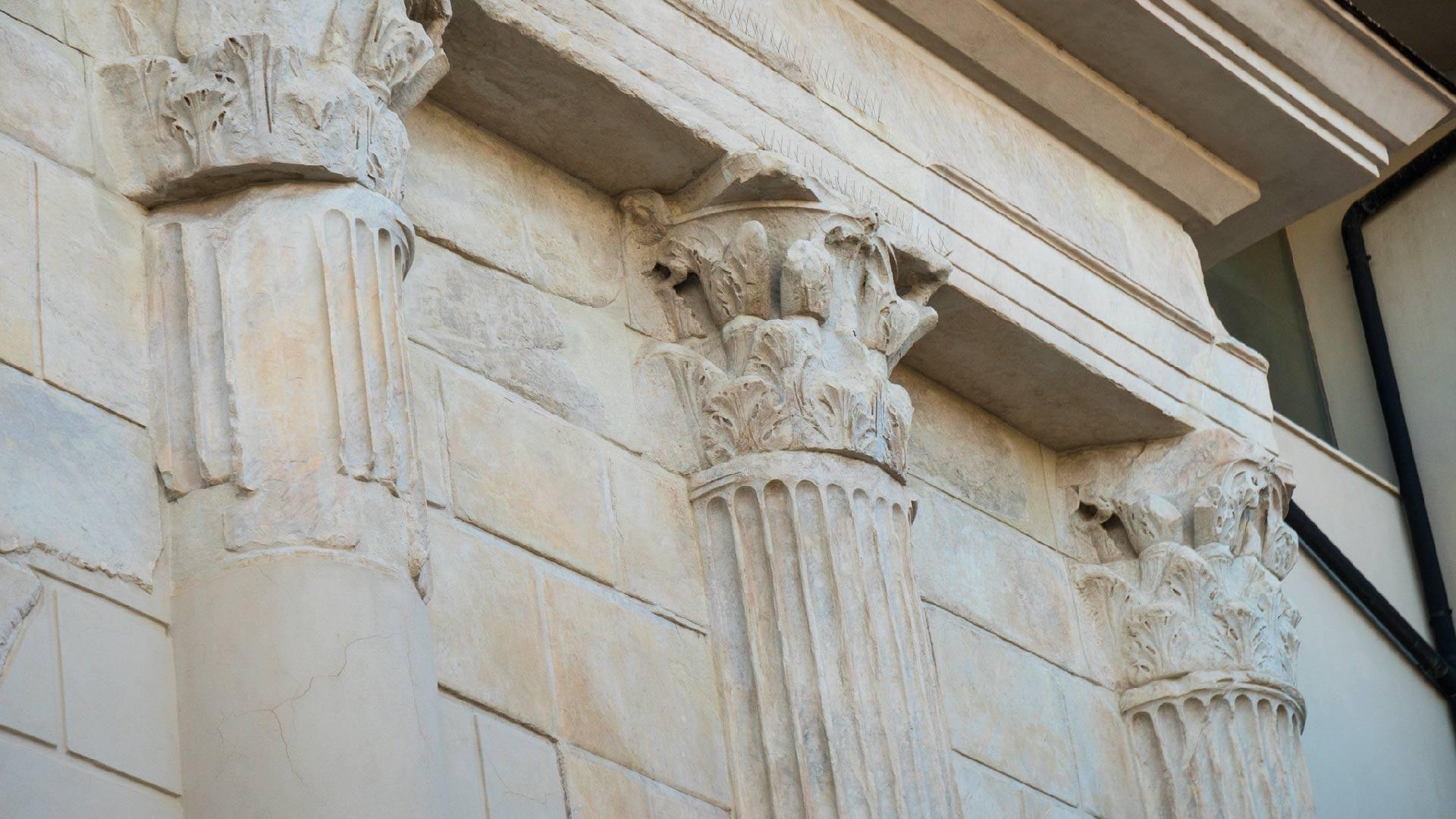 Colonne del Duomo di Pozzuoli