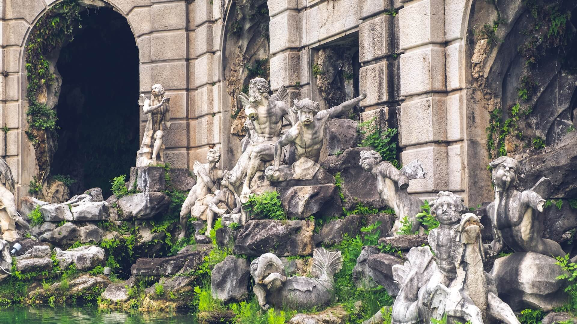 Il Parco della Reggia di Caserta