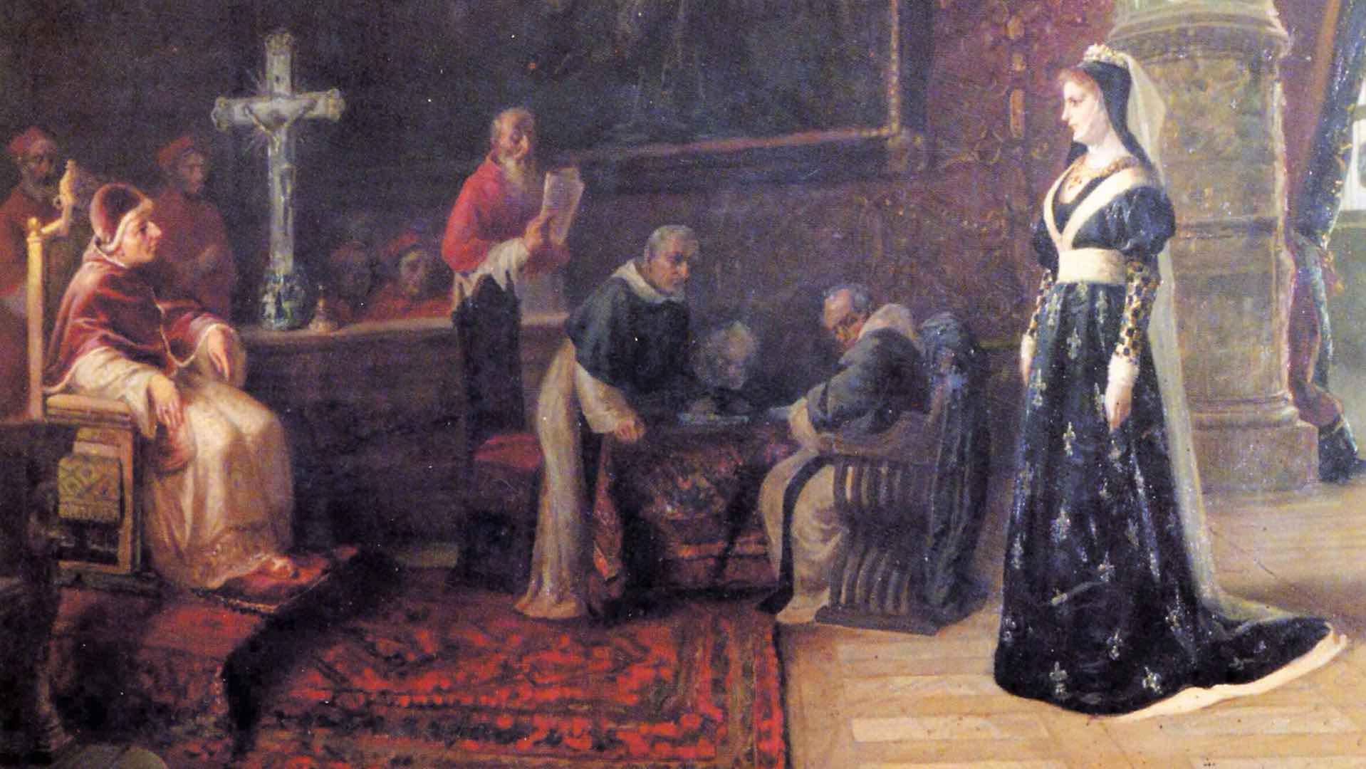 La Regina Giovanna II d'Angiò-Durazzo