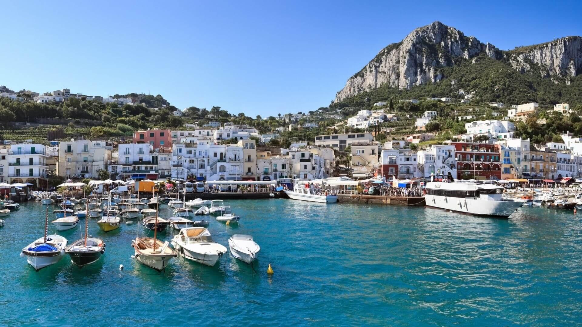 Marina Grande, il porto di Capri