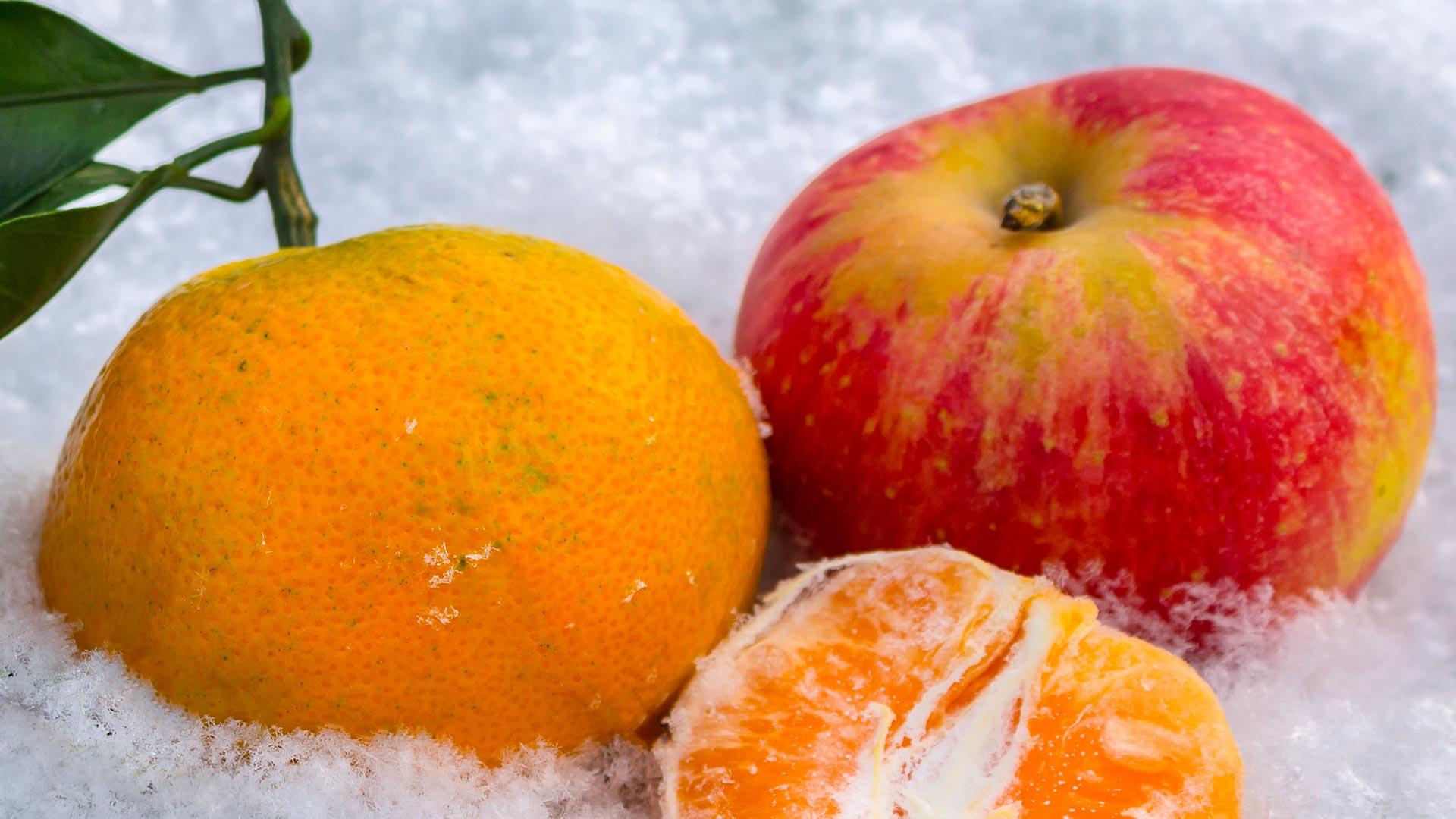 Mela e Mandarino
