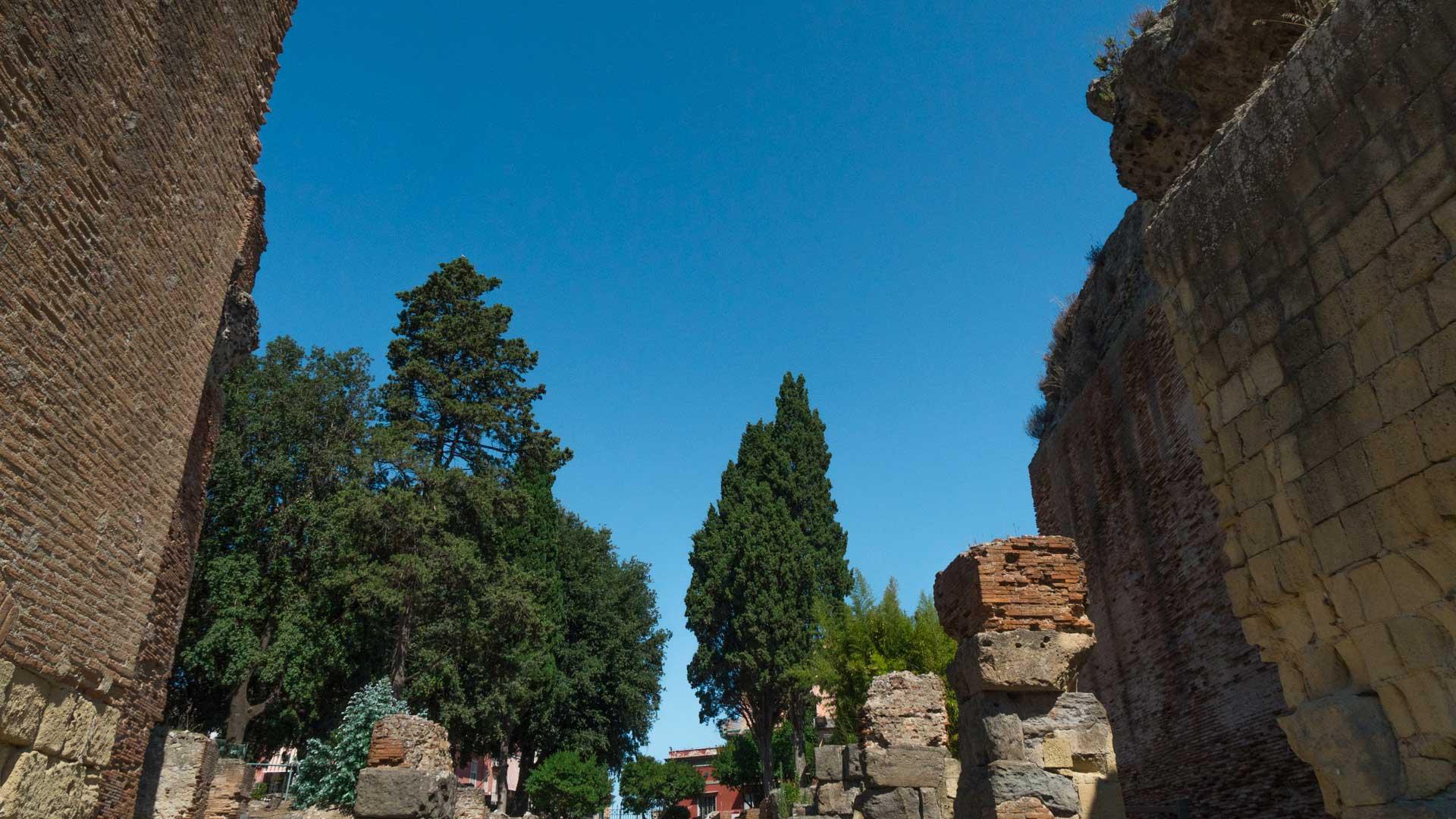 Mura dell'Anfiteatro Flavio di Pozzuoli