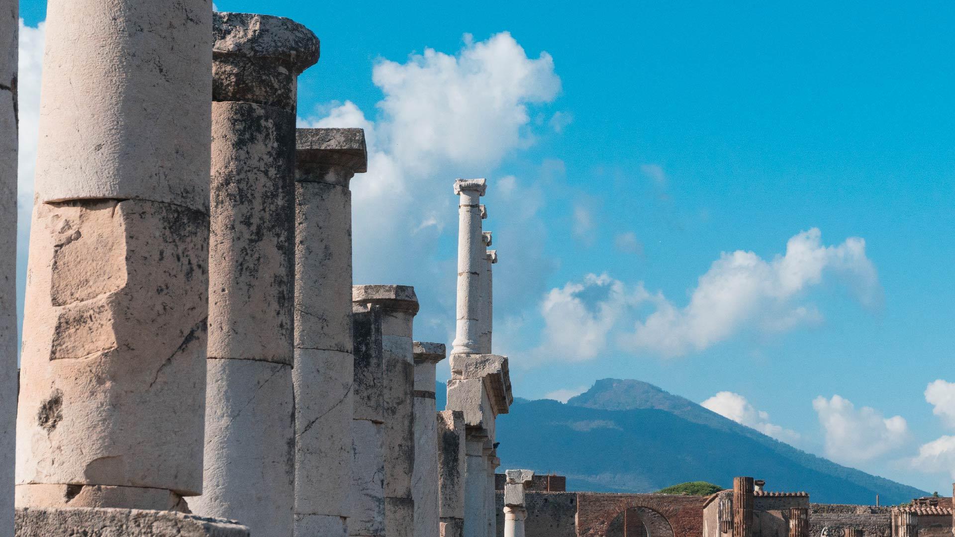 Vesuvio dagli Scavi di Pompei
