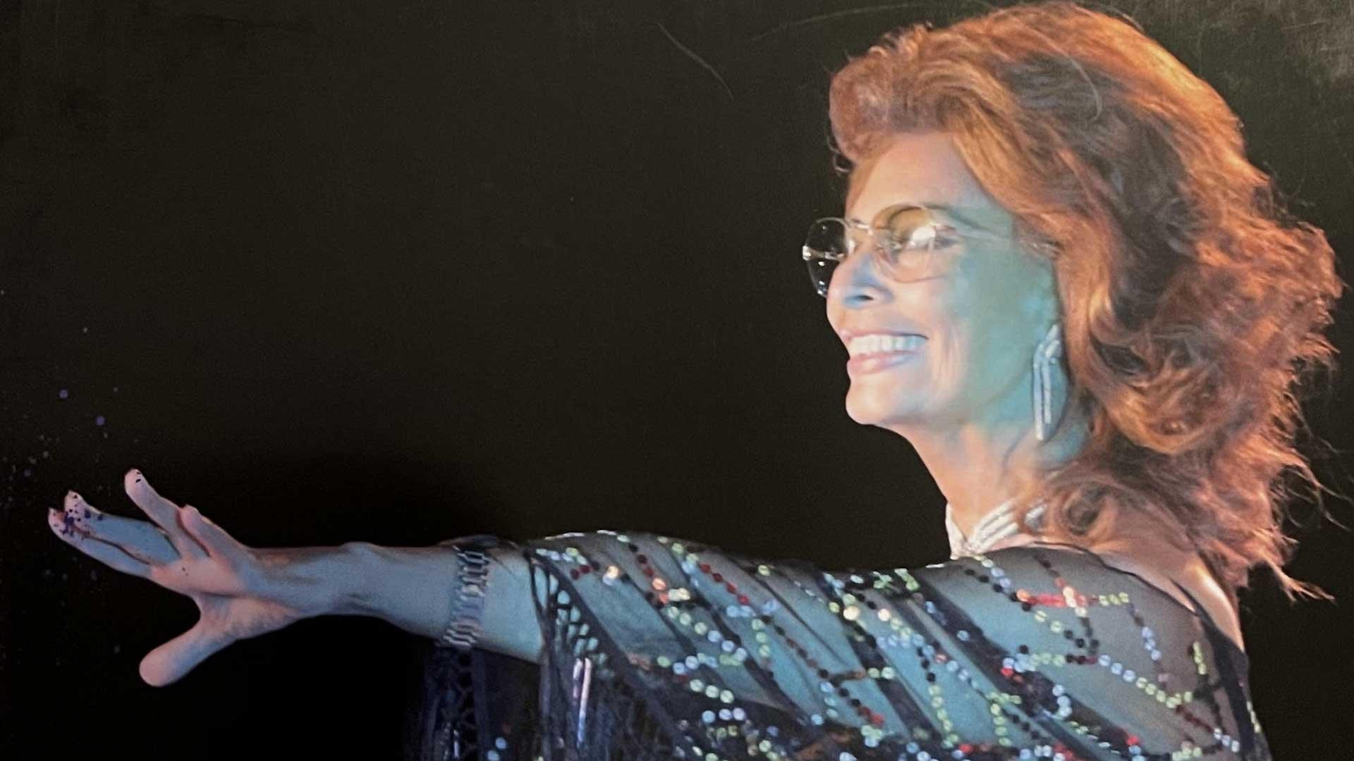 Cover del libro su Sophia Loren