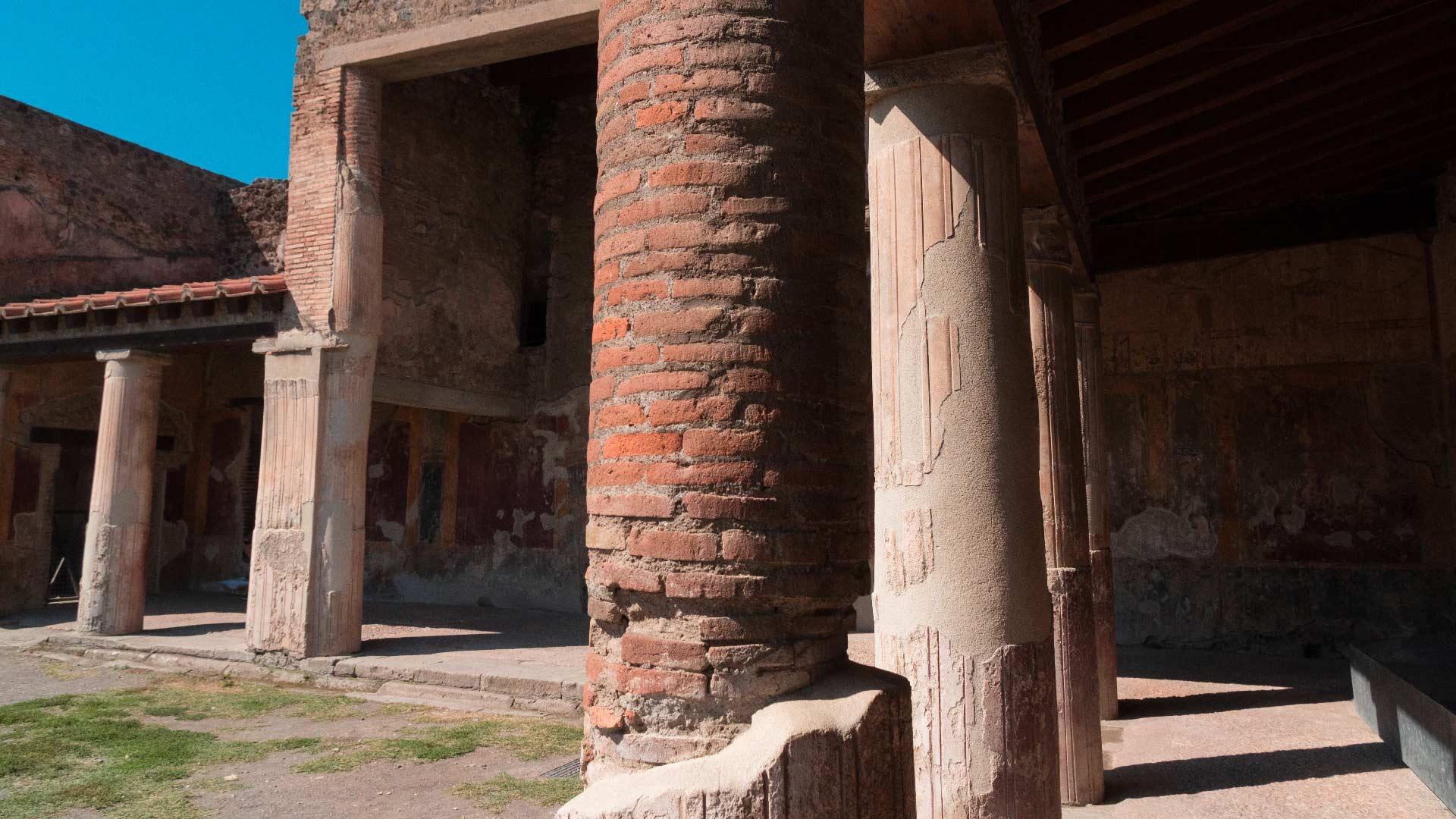 Terme Stabiane negli Scavi di Pompei