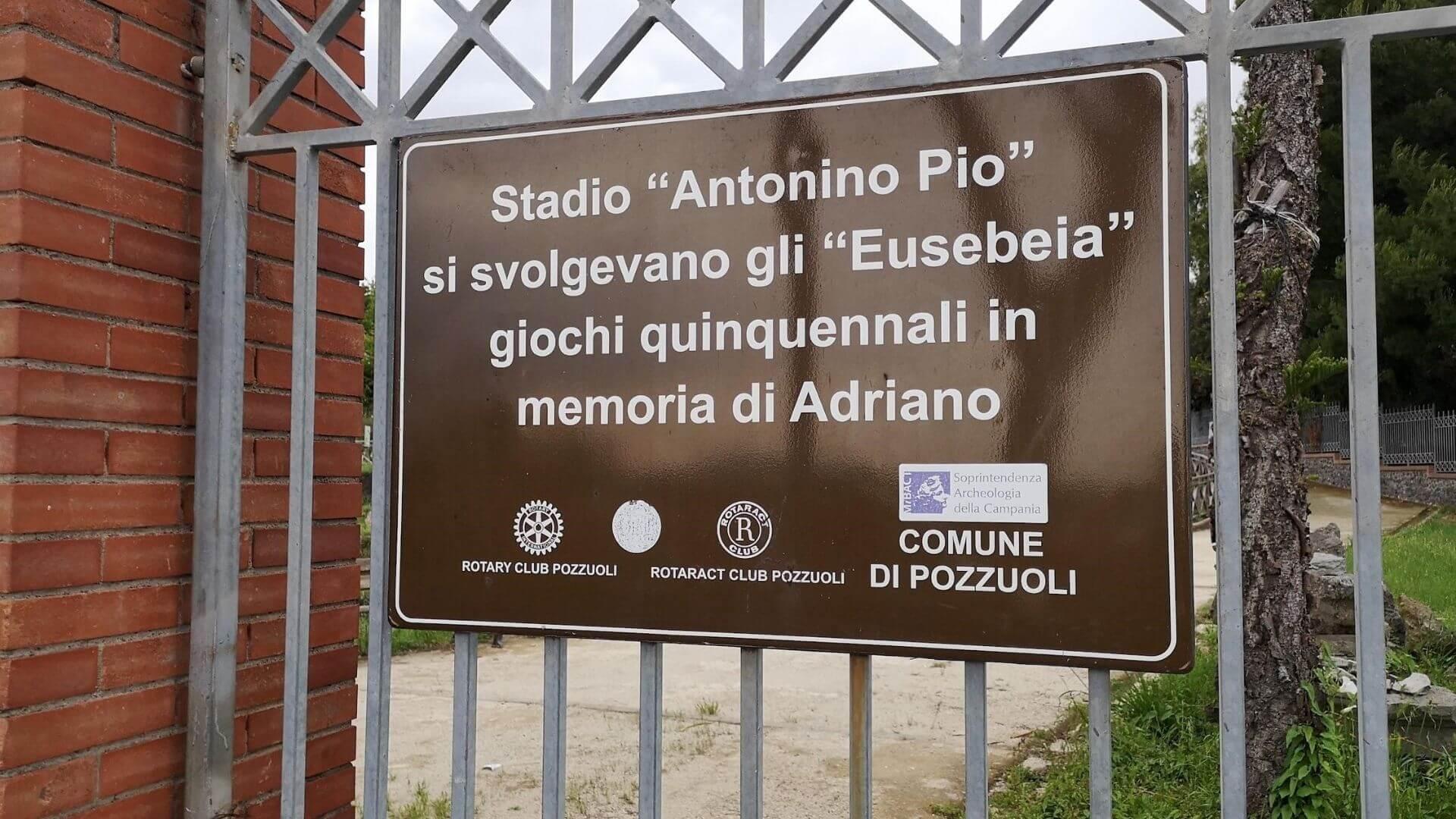 Lo Stadio di Antonino Pio: omaggio all'imperatore Adriano