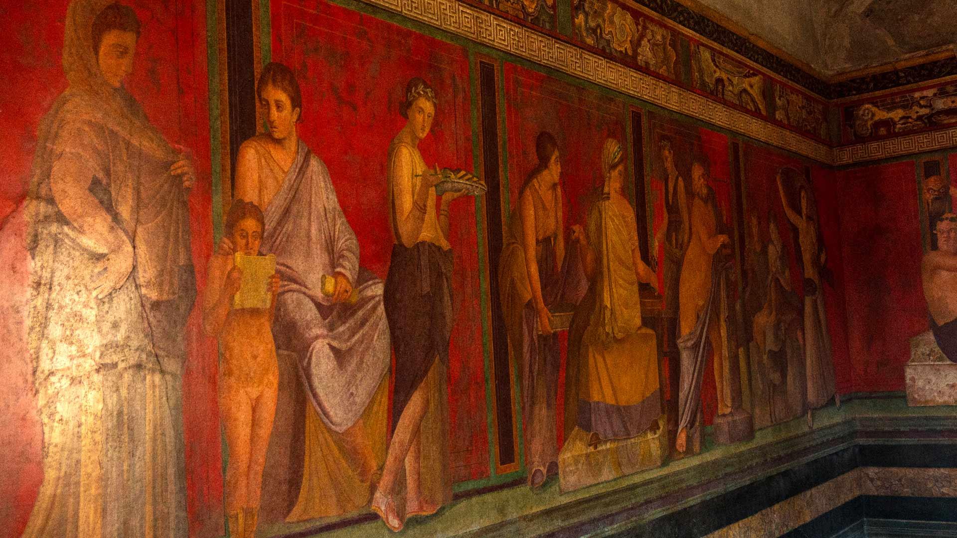 Villa dei Misteri a Pompei. Il fascino di un antico segreto
