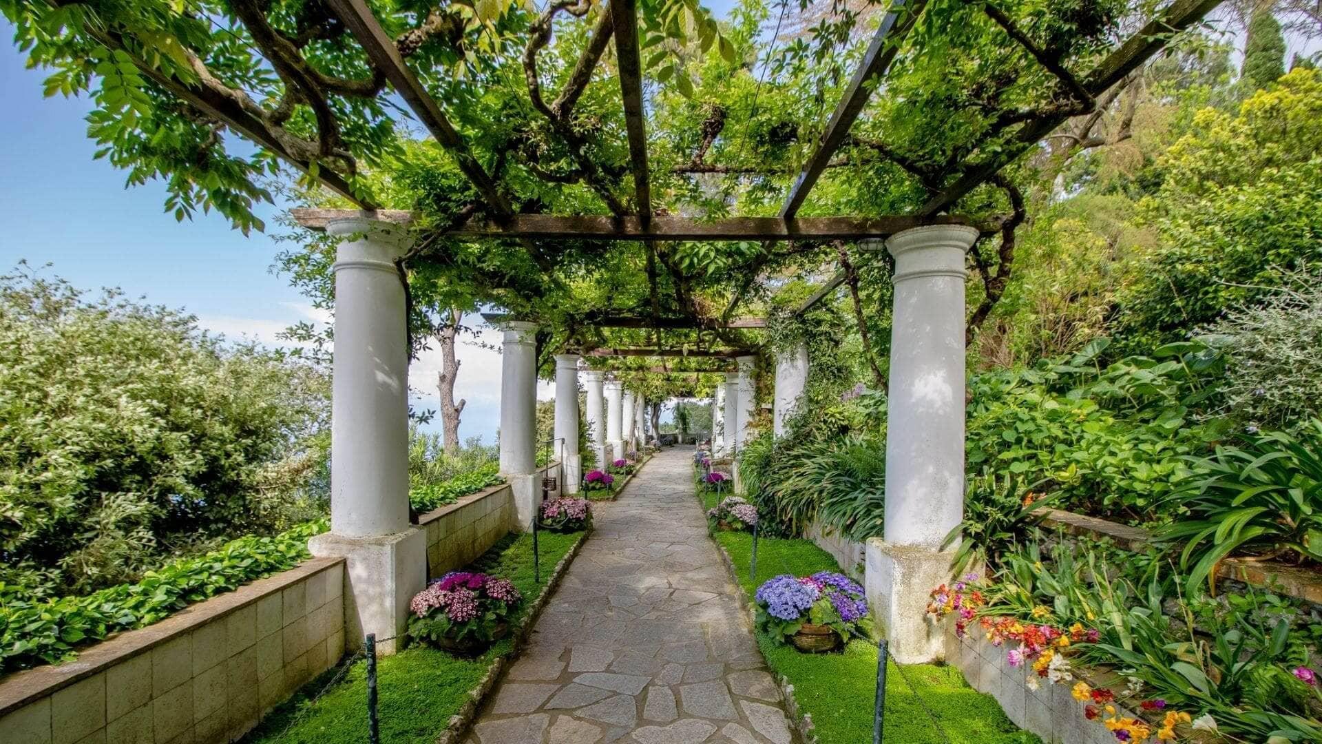La meravigliosa Villa San Michele
