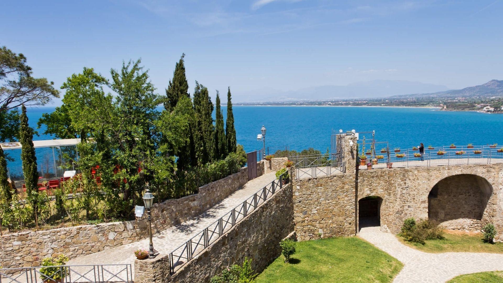 Il maestoso Castello Angioino Aragonese di Agropoli